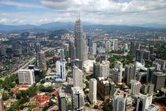 城市吉隆坡马来西亚视图 库存照片