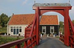 城市吊桥入口堡垒 免版税库存图片