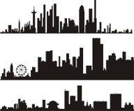 城市向量 图库摄影