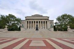 城市哥伦比亚图书馆新的大学约克 免版税图库摄影