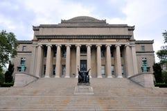城市哥伦比亚图书馆新的大学约克 免版税库存照片