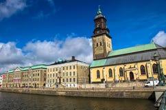 城市哥德堡,瑞典 免版税库存照片