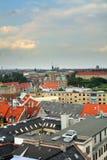 城市哥本哈根视图 免版税库存图片