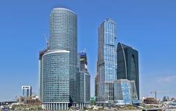 城市商务中心莫斯科 免版税库存照片