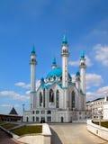 城市喀山kul清真寺俄国sharif 免版税库存图片