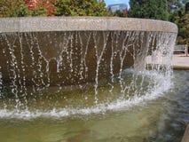 城市喷泉公园 库存照片