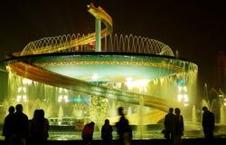 城市喷泉 图库摄影