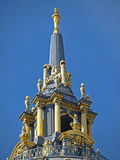 城市圆顶弗朗西斯科大厅圣 免版税库存照片