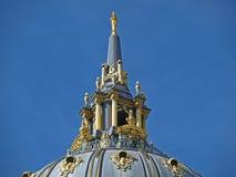 城市圆顶弗朗西斯科大厅圣 图库摄影