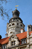 城市圆顶德国大厅莱比锡 库存照片