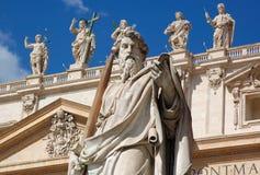 城市圣徒梵蒂冈 免版税库存图片