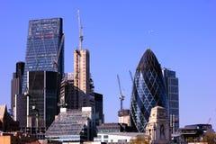 城市在伦敦 免版税库存图片
