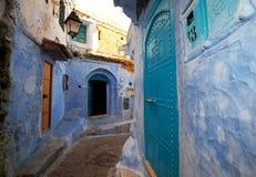 城市在摩洛哥 库存图片