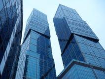 城市在莫斯科 免版税库存照片