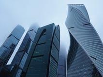 城市在莫斯科 免版税图库摄影