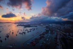 城市在香港 免版税库存图片