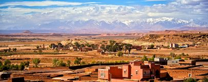 城市在Morroco 库存图片