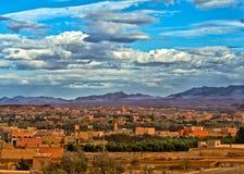 城市在Morroco 免版税库存照片
