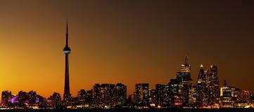 城市地平线多伦多 免版税图库摄影