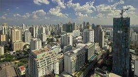 城市地平线天 影视素材