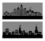 城市地平线设计 图库摄影