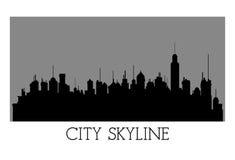 城市地平线设计 库存照片