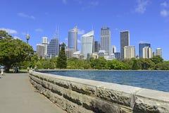 城市地平线,悉尼,澳大利亚 库存图片