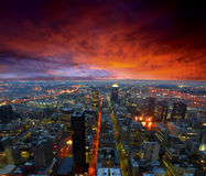 城市地平线 免版税库存图片