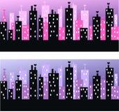 城市地平线 免版税图库摄影