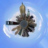 城市地球纽约 免版税图库摄影