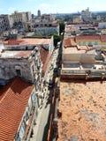 城市场面屋顶古巴室外旅行的海岛 免版税库存图片