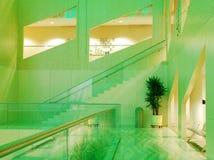 城市埃德蒙顿大厅内部视图 免版税库存照片