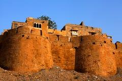 城市堡垒jaisalmer 免版税库存图片