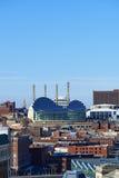 城市堪萨斯地平线 免版税库存照片