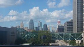 城市堪萨斯地平线 库存图片