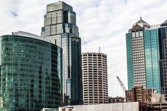 城市堪萨斯地平线 免版税图库摄影
