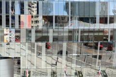 城市堪萨斯视窗 免版税库存照片