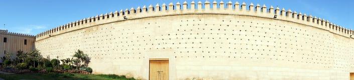 城市墙壁全景  免版税库存图片