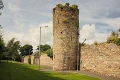 城市墙壁和塔 韦克斯福德镇 Co 韦克斯福德 爱尔兰 免版税图库摄影