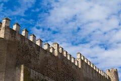 城市墙壁 库存照片