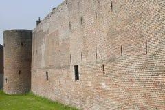 城市墙壁 库存图片