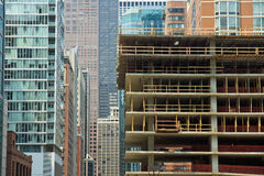 城市增长 免版税库存照片