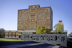 城市墨西哥大学 免版税库存照片