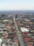 城市墨西哥视图 免版税库存照片