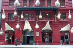 城市外部门面gershwin旅馆纽约 免版税图库摄影