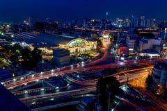 城市夜光 库存图片
