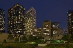 城市夜 免版税库存图片