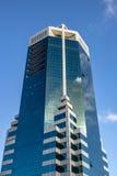 城市大厦和天空 库存图片