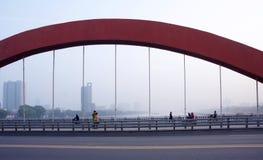 城市大气污染 免版税图库摄影