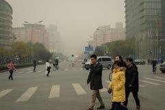 城市大气污染2 免版税库存照片